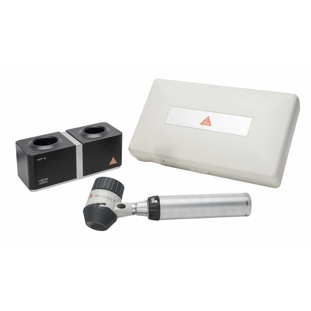 ermatoscopio HEINE DELTA 20 T con cargador de mesa NT 4