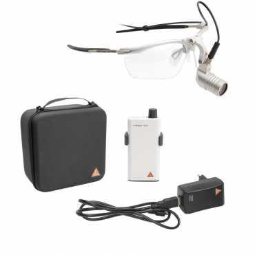 Lámpara frontal HEINE MicroLight 2 LED en S-FRAME