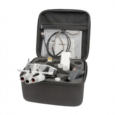 HEINE LoupeLight 2 avec loupes binoculaires HRP 3,5x