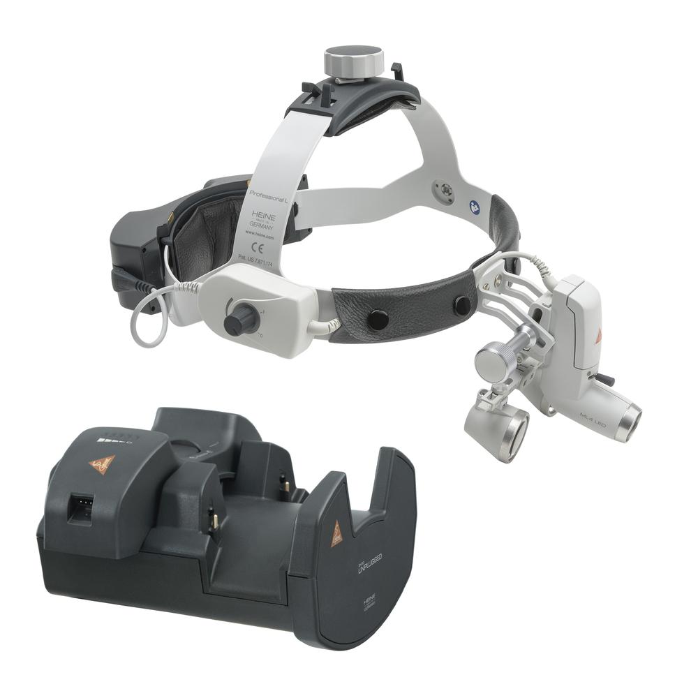 HEINE ML4 LED Kit 12c avec Loupes binoculaires HR 2,5x