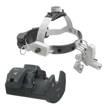 Lámpara Frontal HEINE ML4 LED Kit 7c con Lupas binoculares HR 2,5x