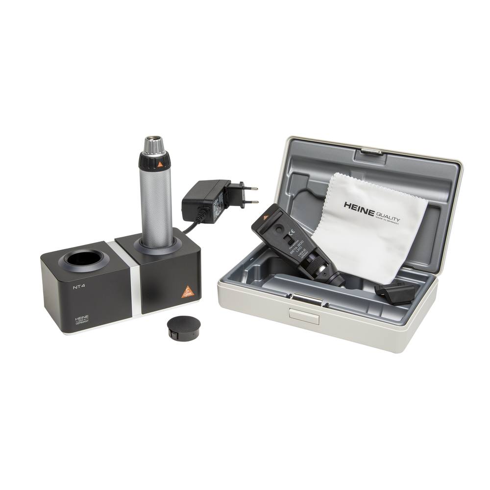 Retinoscope HEINE BETA 200 LED Set with NT4 table charger