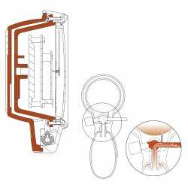 Sphygmomanomètre HEINE GAMMA G5, boîte de 10