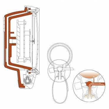 Brassard Sphygmomanomètre HEINE GAMMA G5 pour adulte