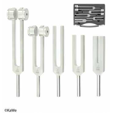 KaWe Aluminium tuning fork set in a case