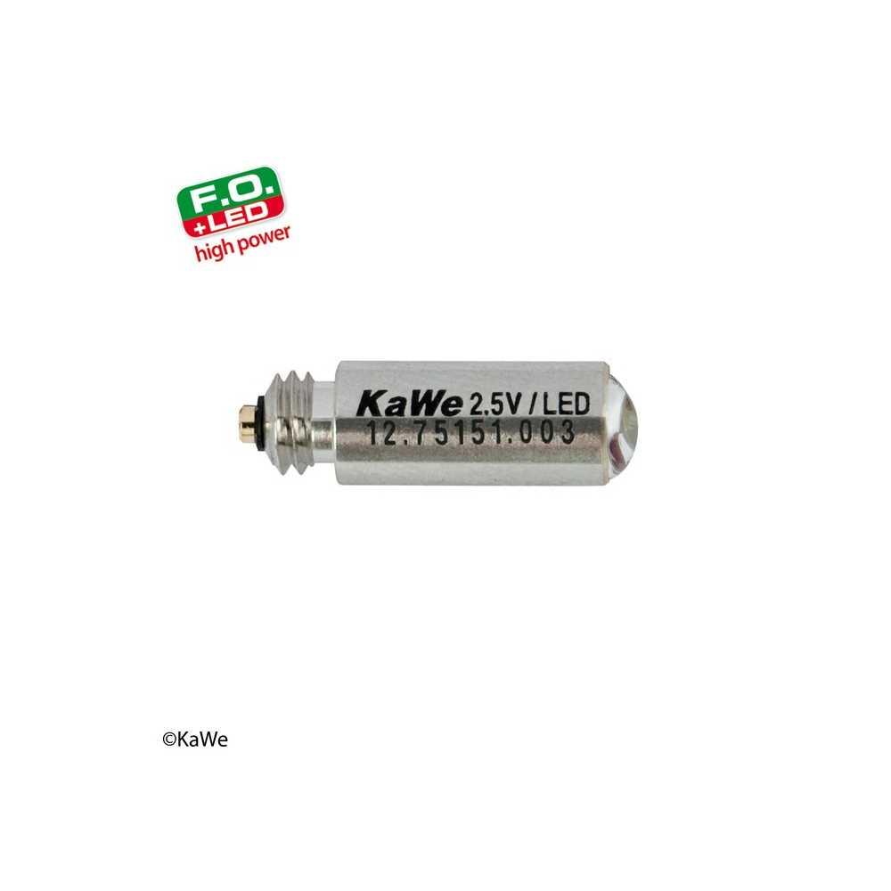 Ampoule LED haute puissance KaWe 2,5 V pour laryngoscope FO