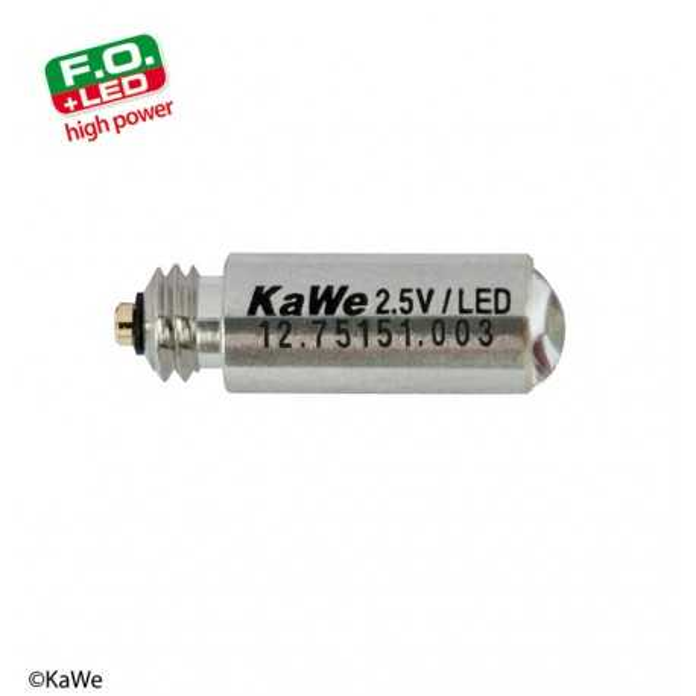 Bombilla LED KaWe de alta potencia 2,5 V para laringoscopio FO