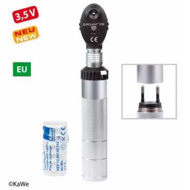 KaWe EUROLIGHT E36 Ophthalmoskop EU Ladestecker 240 V.