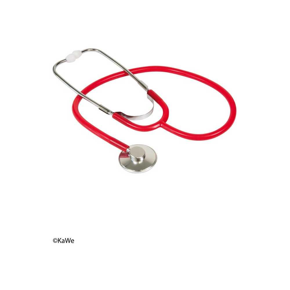 KaWe Single flat-head stethoscope aluminium