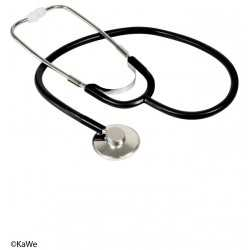KaWe Single flat-head stethoscope aluminium