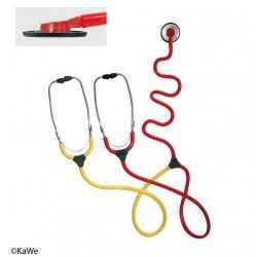 Estetoscopio de enseñanza de enfermería KaWe PLANO