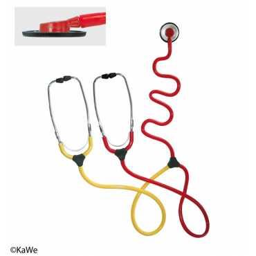 Estetoscópio de ensino da enfermeira KaWe PLANO