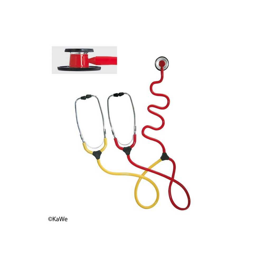 Estetoscopio de enseñanza KaWe DUO Nurse
