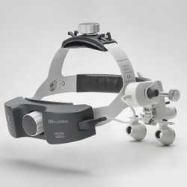 HEINE ML 4 LED HeadLight UNPLUGGED Kit 6c with HR 2.5 x / 340 mm