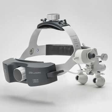 HEINE ML 4 LED HeadLight UNPLUGGED Kit 6c con HR 2,5 x / 340 mm