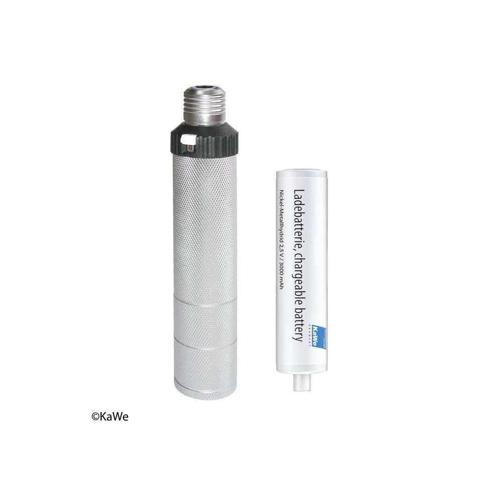 KaWe Otoscope batterie- / poignée de recharge C accu NiMH 2,5 V