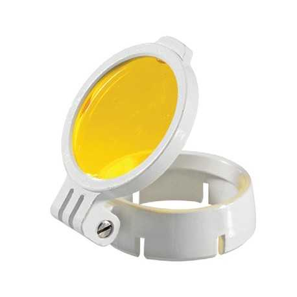 Filtro amarillo desmontable para lupa LED HEINE
