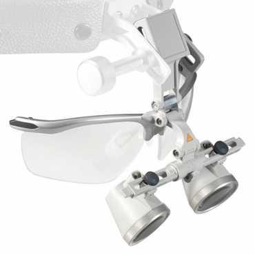 Óptica HEINE HR 2,5x com i-View e S-GUARD