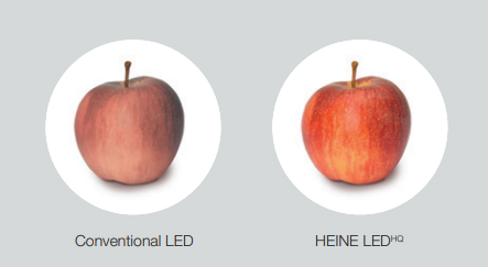 HEINE LED Colour rendering